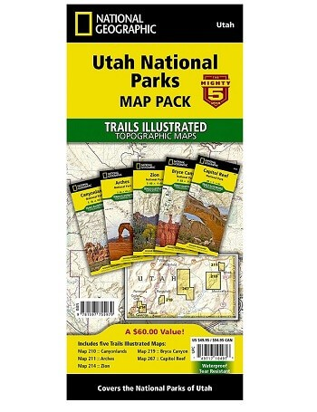 National Geographic Trails Illustrated Maps