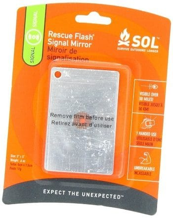 The Sol Rescue Flash Signal Mirror