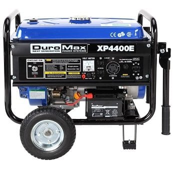DuroMax XP4400E 4,400 Watt 7.0 HP Gas Generator