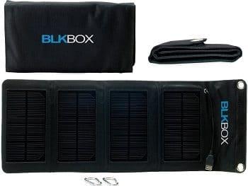 7W BLKBOX Portable Folding Solar Kit