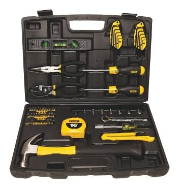 Stanley 94-248 65 Piece Homeowners Tool Kit