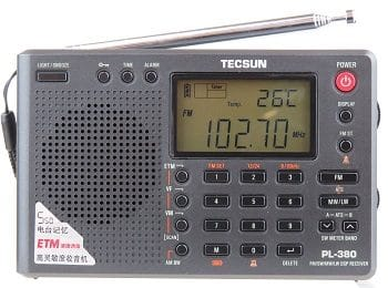 TECSUN PL-380 DSP FM stereo radio