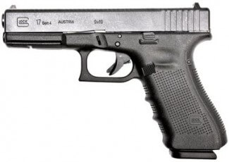 The Glock G4 17 9mm