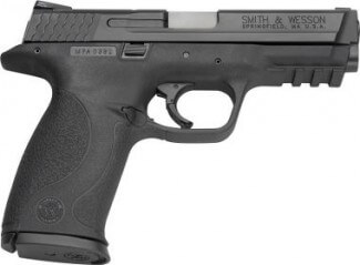 The Smith and Wesson M&P Pro 9mm