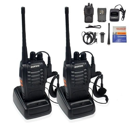 Two Way Radio with Headphones
